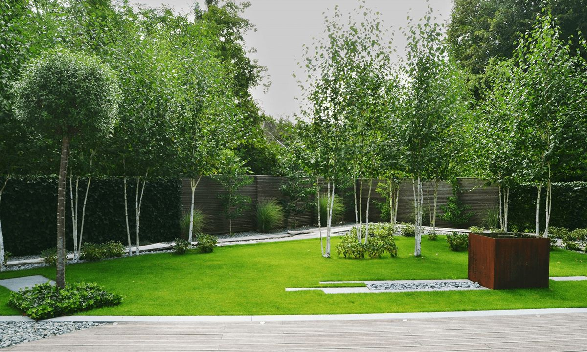 Am nagement paysager contemporain for Jardin paysager contemporain